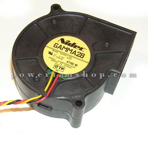 فن بلوئر کامپیوتری NIDEC GAMMA28 12V DC