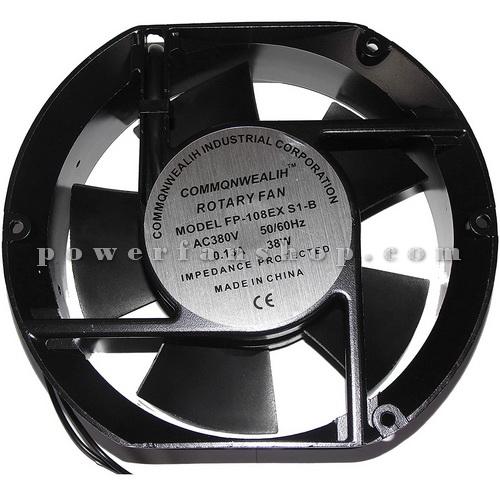 فن تابلویی بلبرینگی سایز 17×15 COMMONWEALTH 220V AC