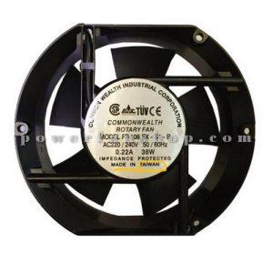 فن تابلویی فلزی سایز 17×15 COMMONWEALTH 220V AC