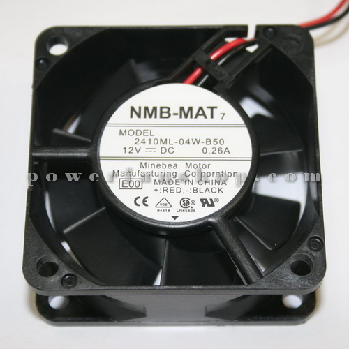 فن پلاستیکی کامپیوتری سایز 7×7 NMB 12V DC