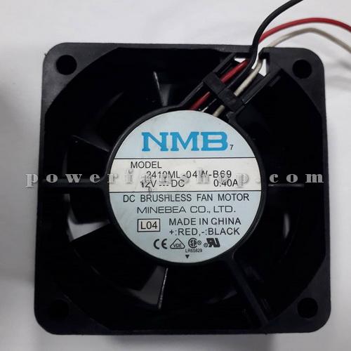 فن پلاستیکی کامپیوتری سایز 2×6×6 NMB 24V DC