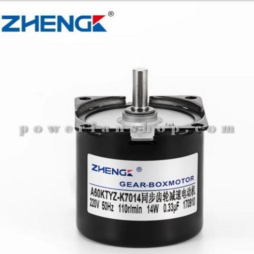 موتور گیربکس ZHENG 60KTYZ 220V